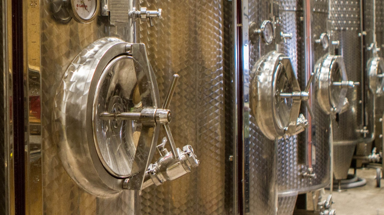 wine distilling vats