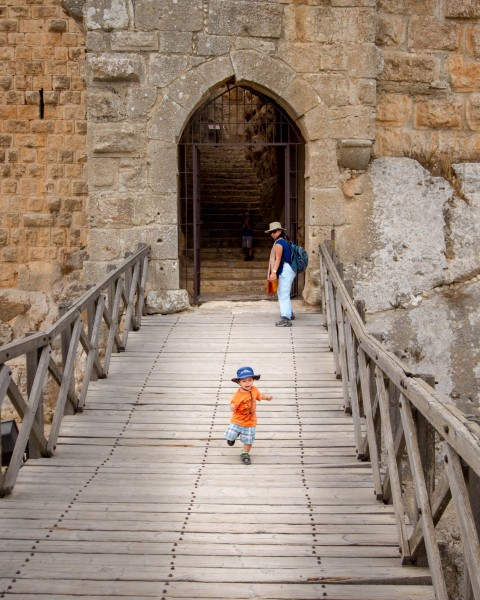 Ajloun Castle Entrance