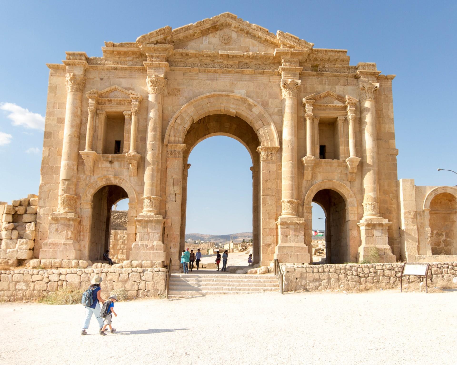 Jerash Hadrian's Arch