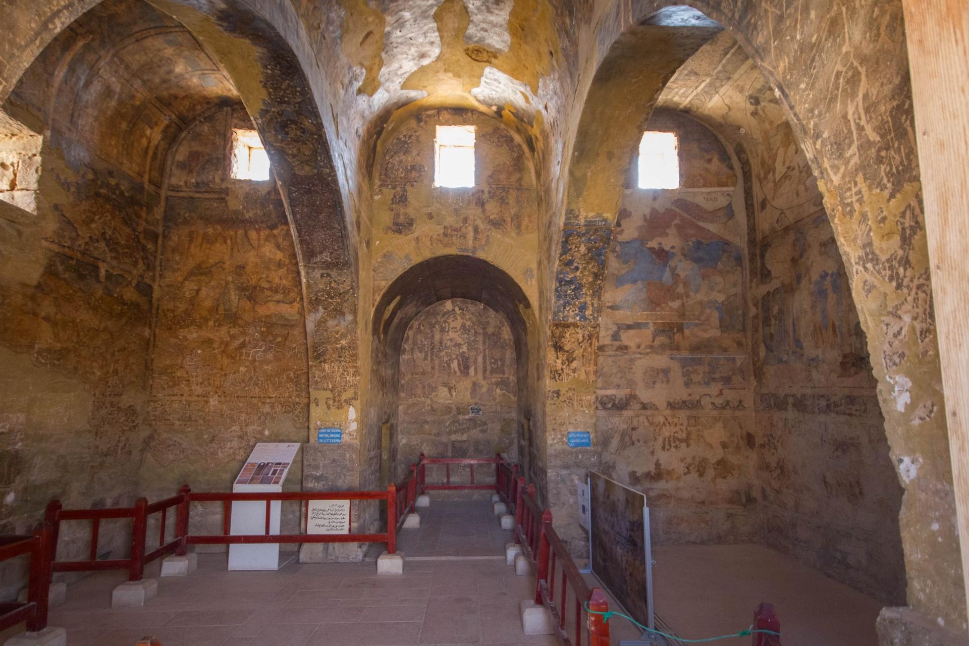 Qusayr Amra - Frescoes
