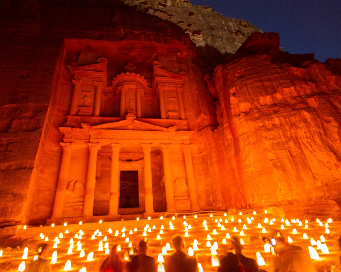Petra By Night on Jordan Holiday