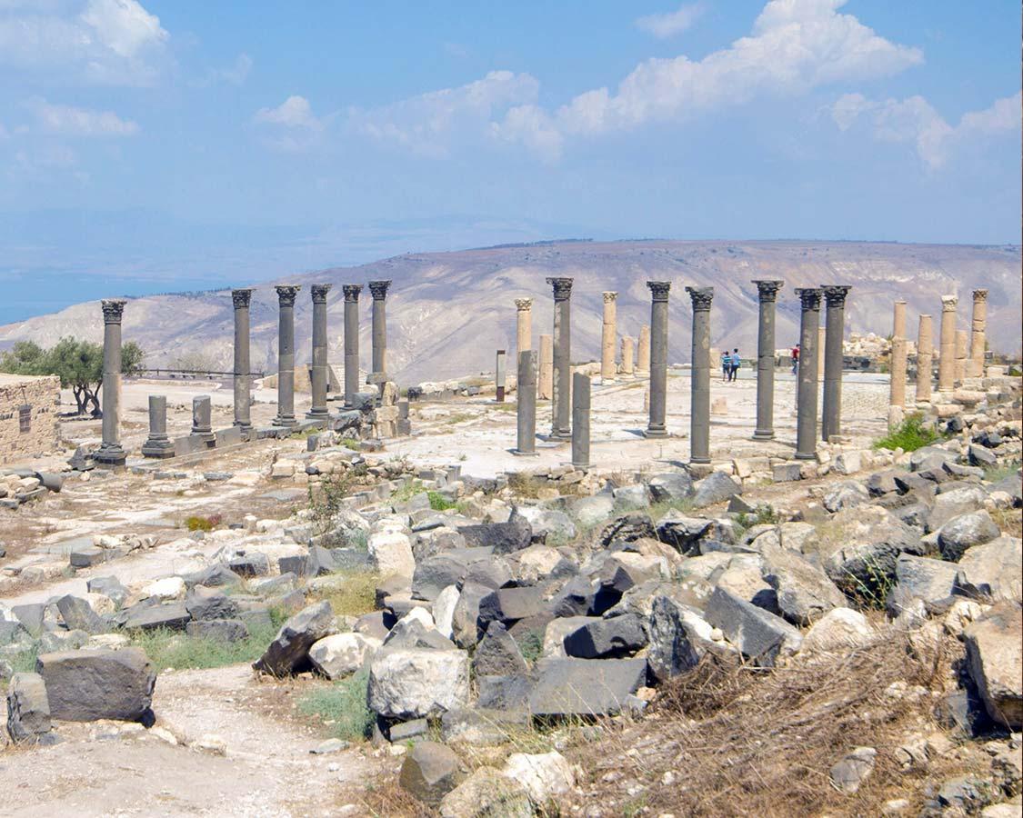 Ruins of Umm Qais Jordan
