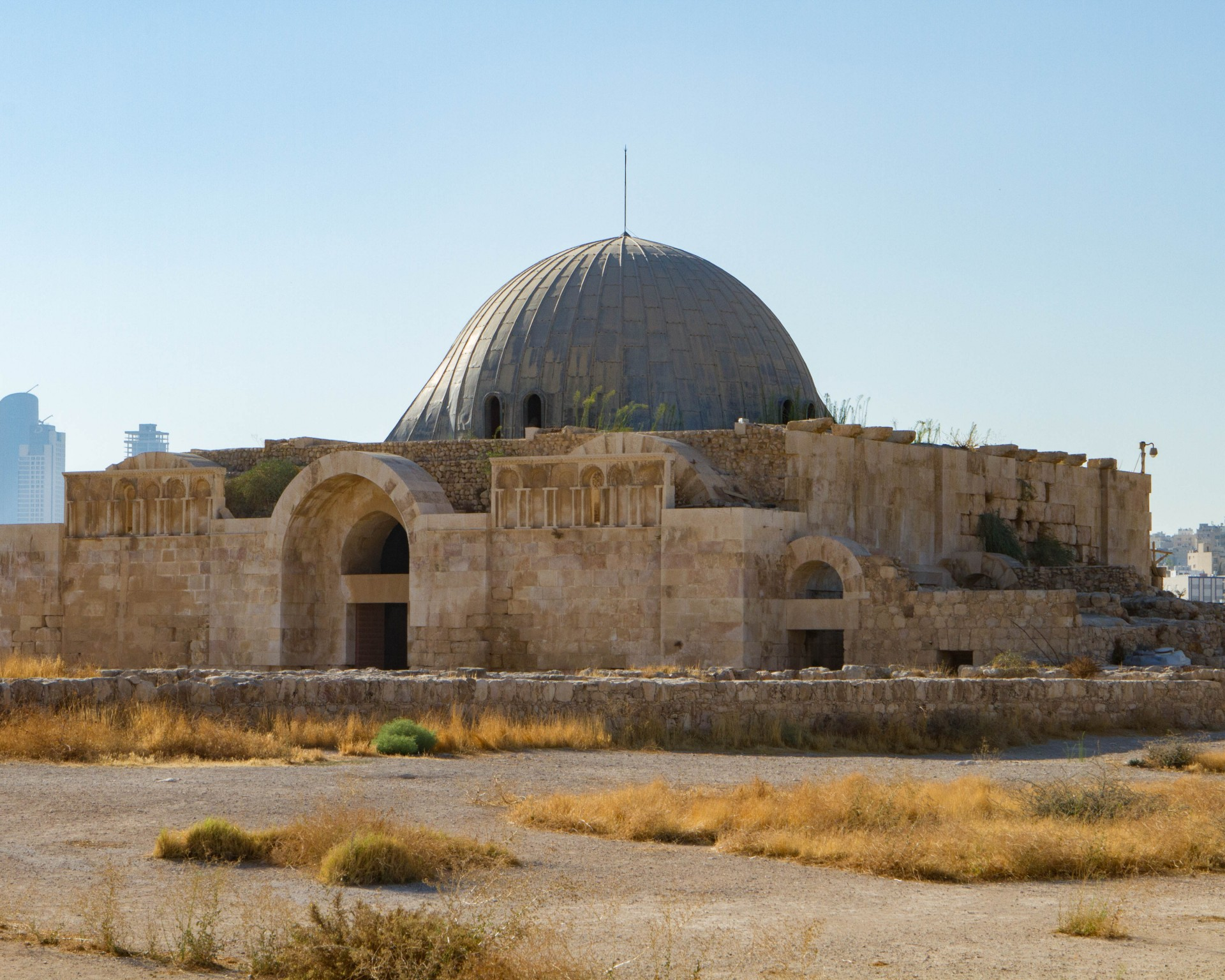 Amman Citadel - Umayyad Palace