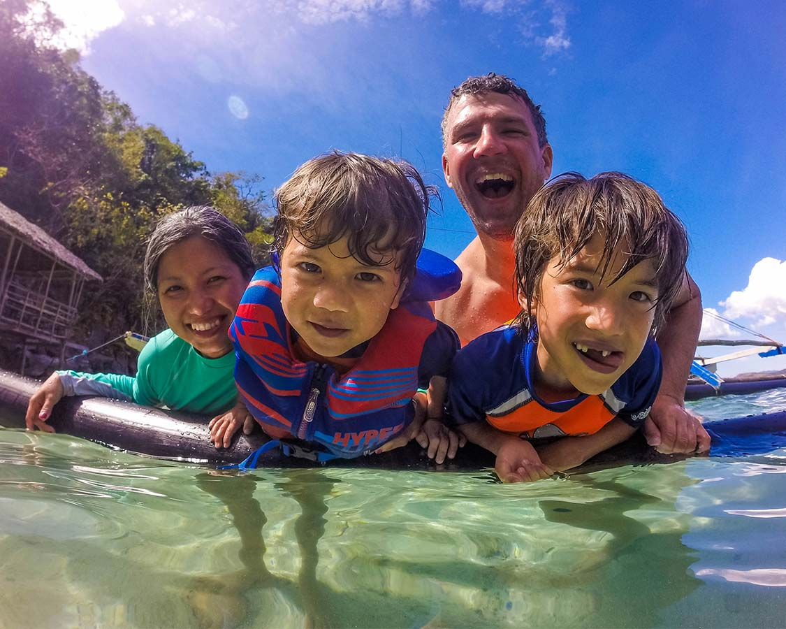 Reasons to travel with kids - confidence