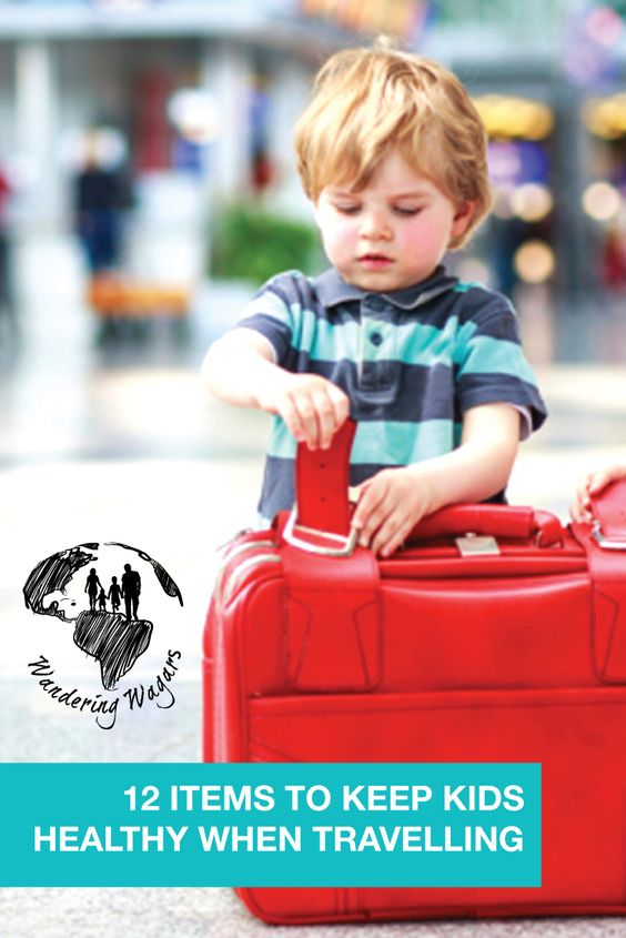 12 Items for keeping kids healthy on the road - Pinterest