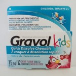 Gravol for kids - Items to Keep Kids Healthy When Travelling