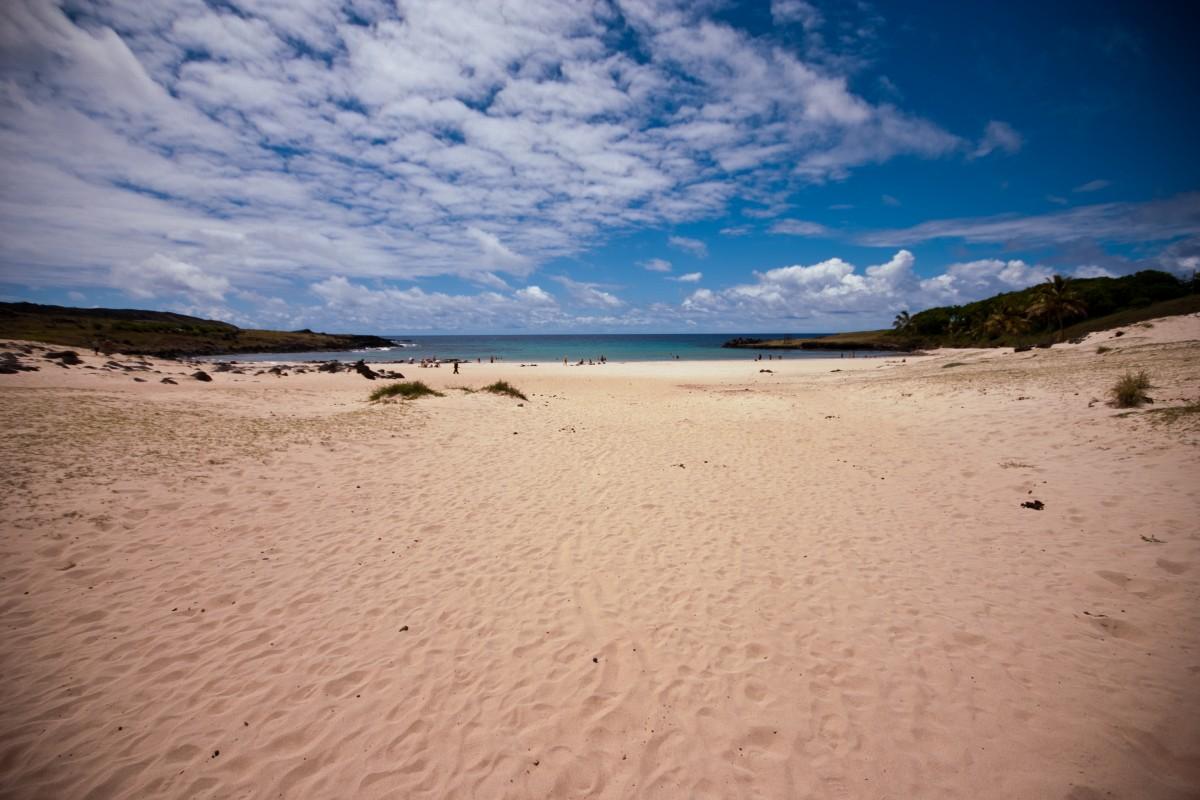 Easter Island - Anakena Beach