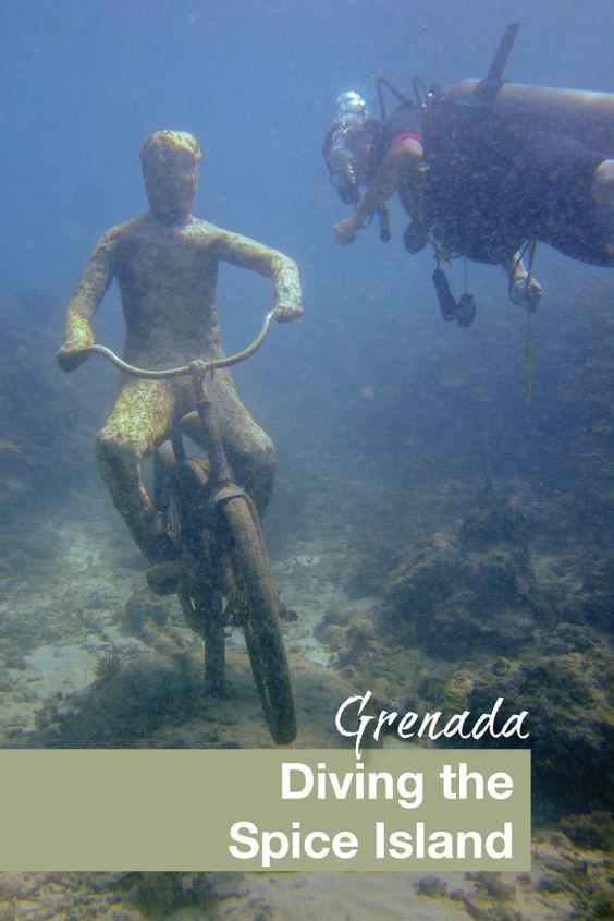 Grenada Diving the Spice Island - Pinterest