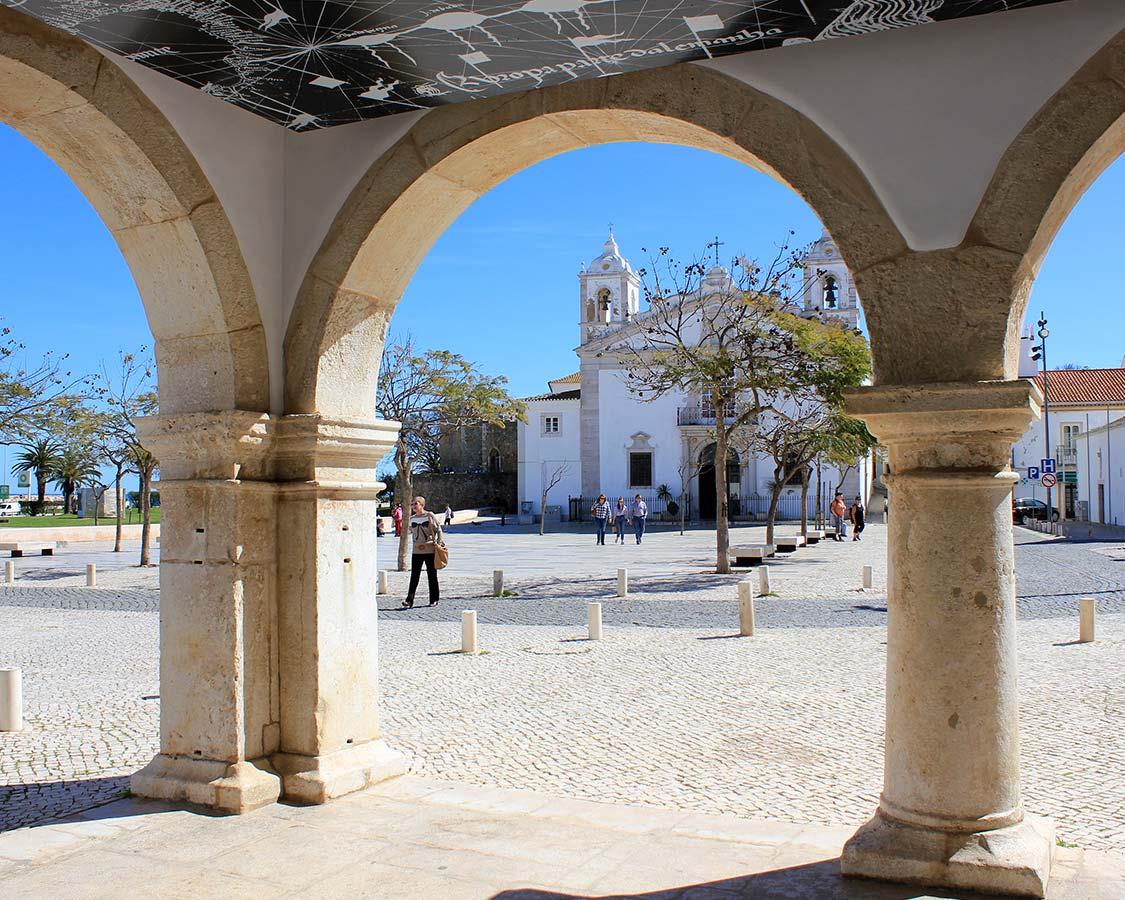 Algarve Beaches Lagos Historic Center