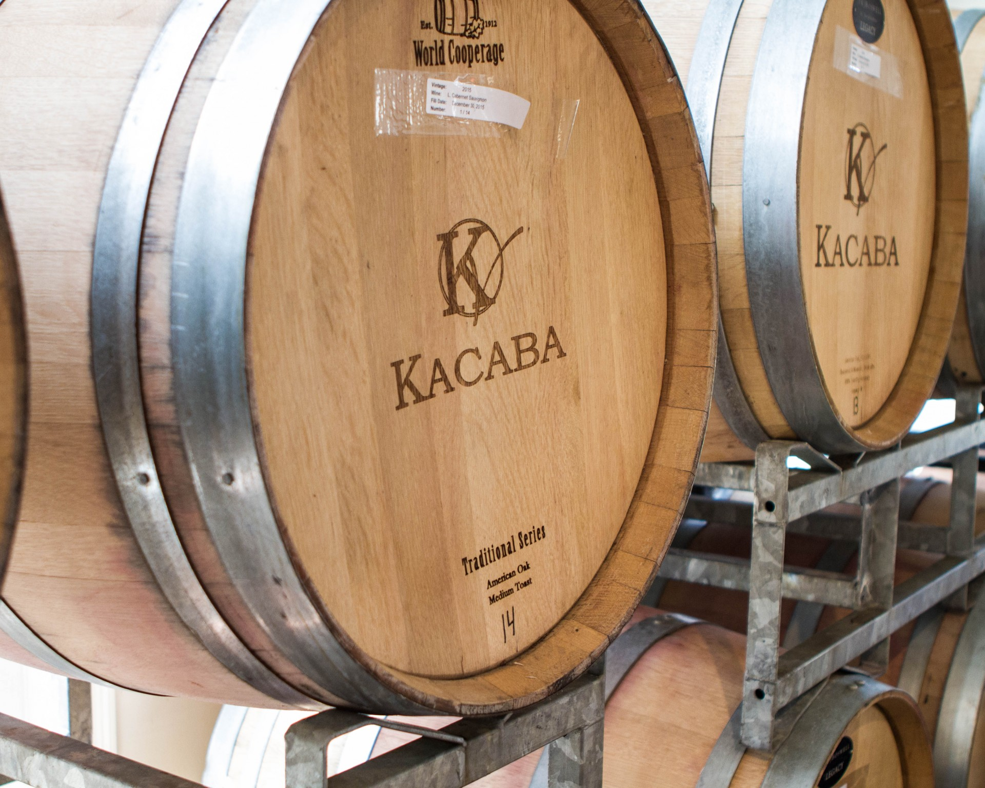 Picture of a wine barrel