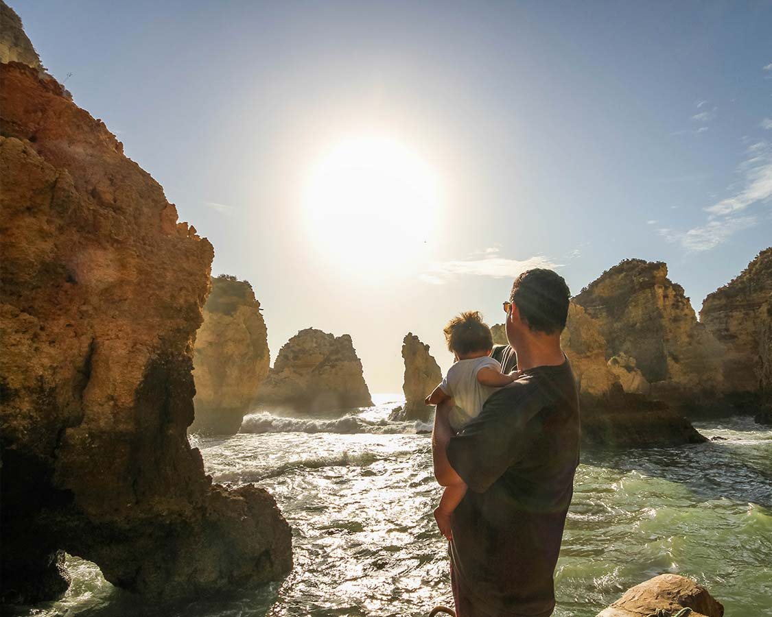 Kevin-Wagar-explores-Algarve-Beaches-at-Praia-Dona-Ana