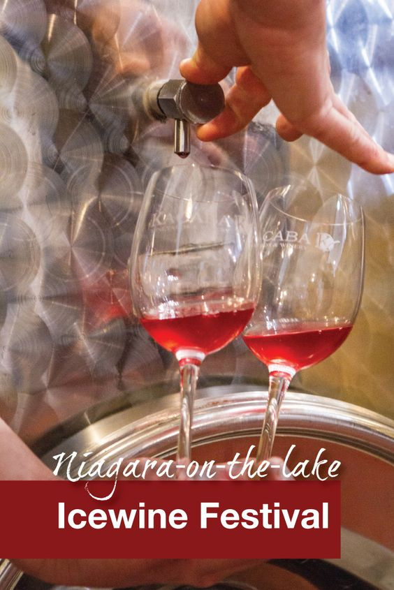 Icewine is a decadent Canadian treat. We take some time off from the kids and enjoy a romantic day at the Niagara Icewine Festival.