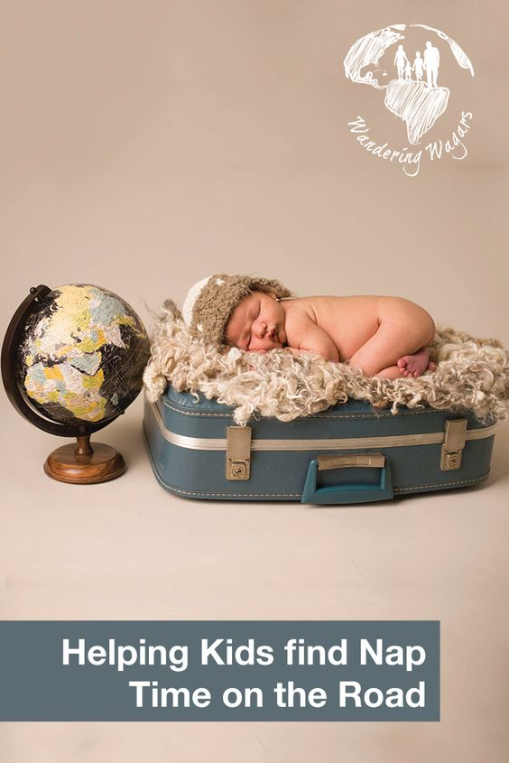 Helping kids find nap time on the road - Pinterest