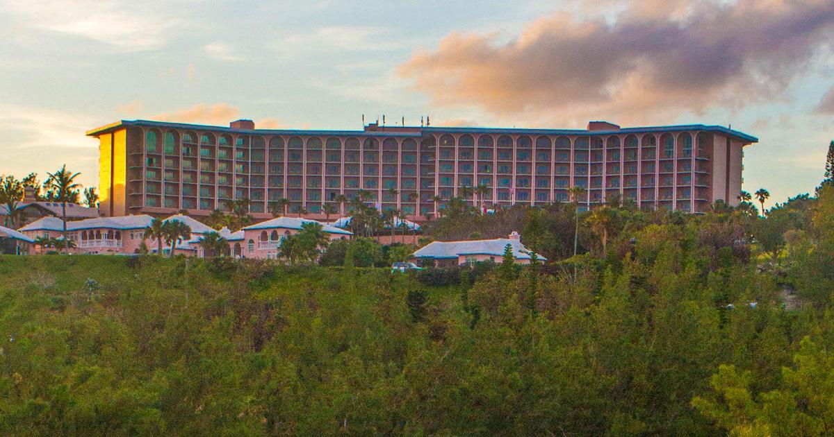 The Fairmont Southampton near Horseshoe Bay Beach in Bermuda