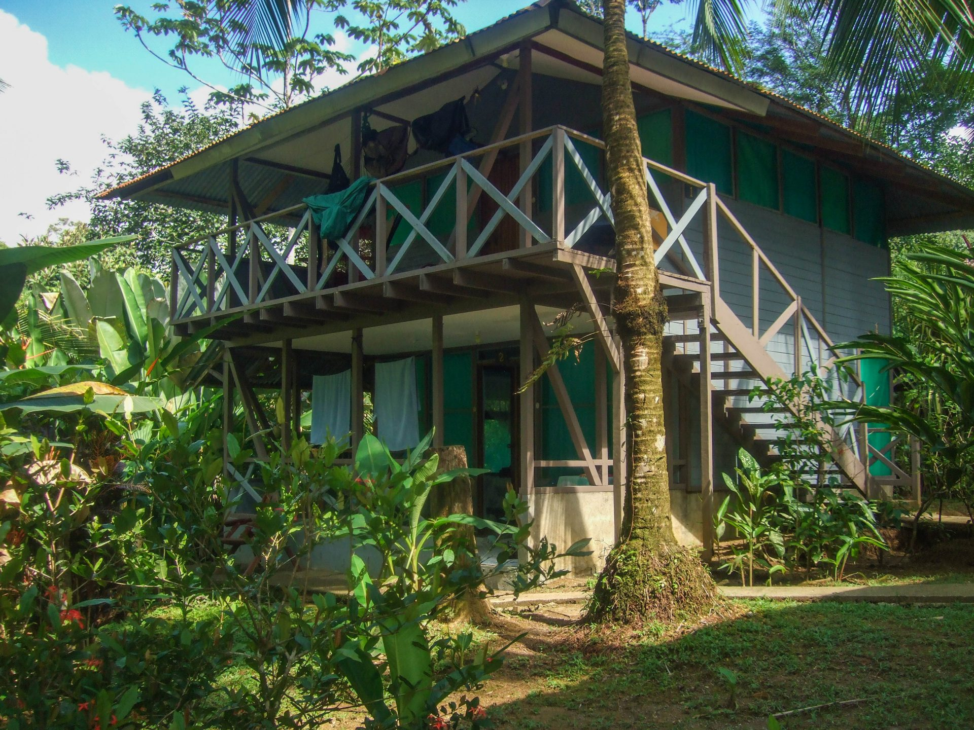 Two story lodge at an eco resort in Costa Rica - finding paradise in the Osa Peninsula