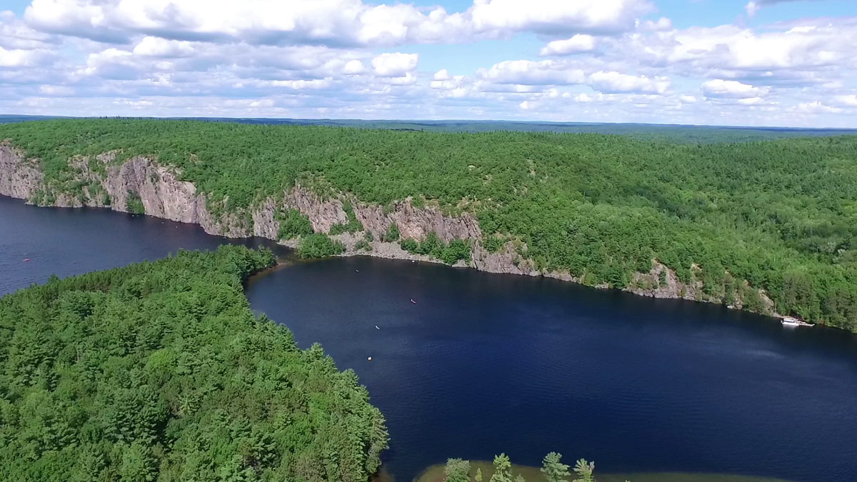 Top things to see in Bon Echo Provincial Park from above