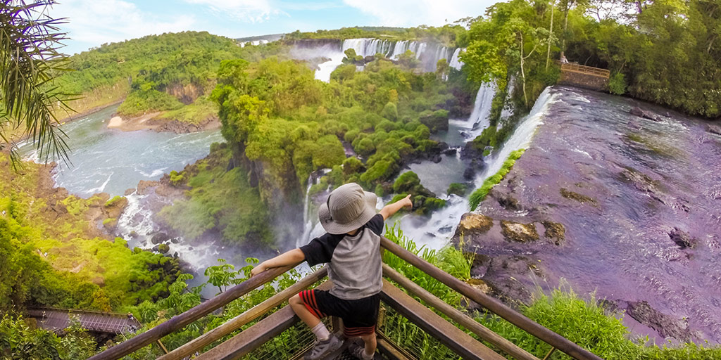 How to visit Iguazu Falls Argentina with kids