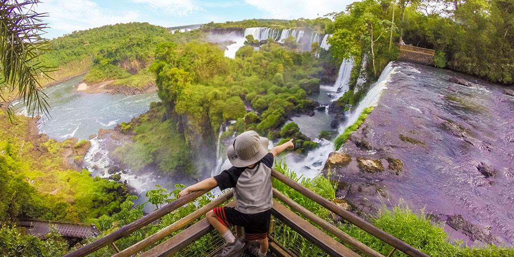 How to visit Iguazu Falls Argentina with kids