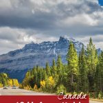 A road winds through the mountains in BC. It's part of 12 unforgettable road trips in Canada - Pinterest