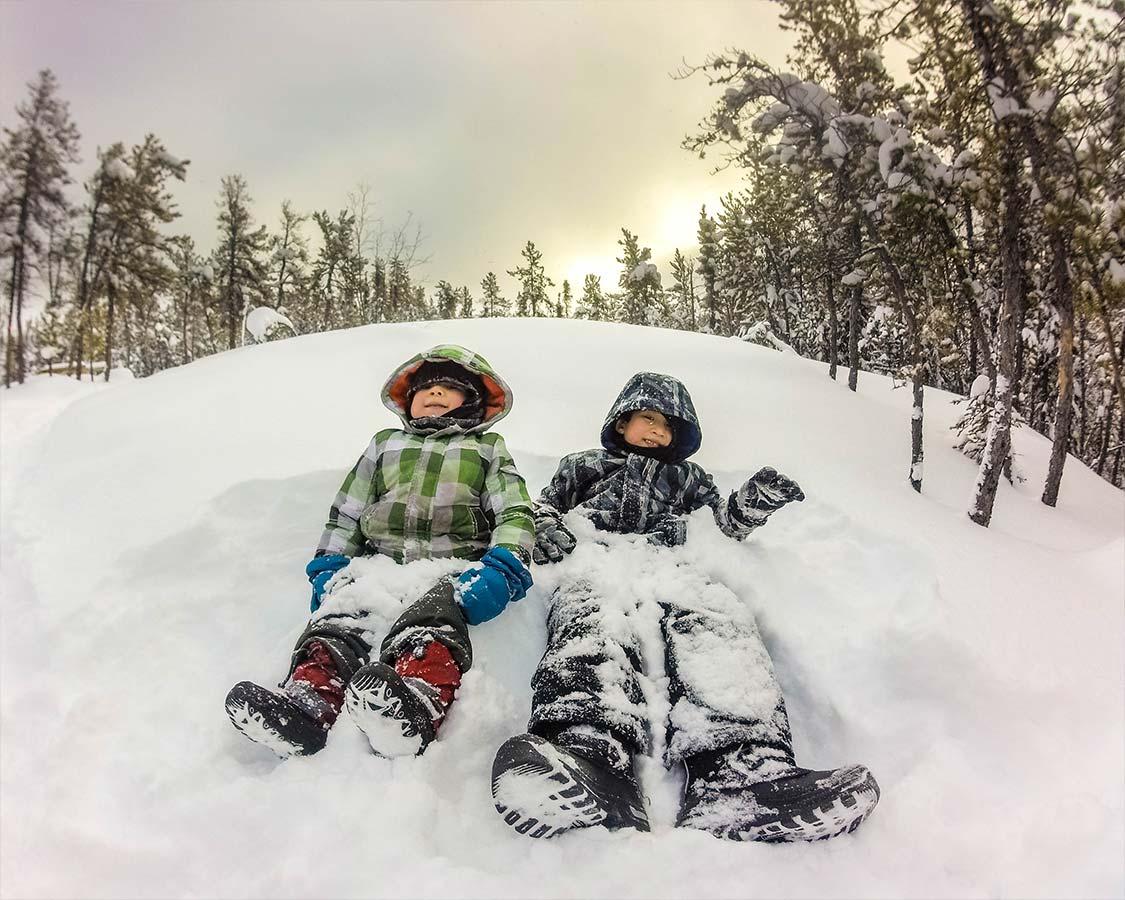 What to wear in Yellowknife in winter
