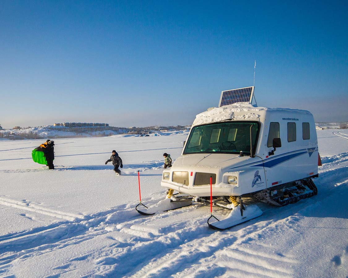 things to do in Yellowknife Bluefish Services