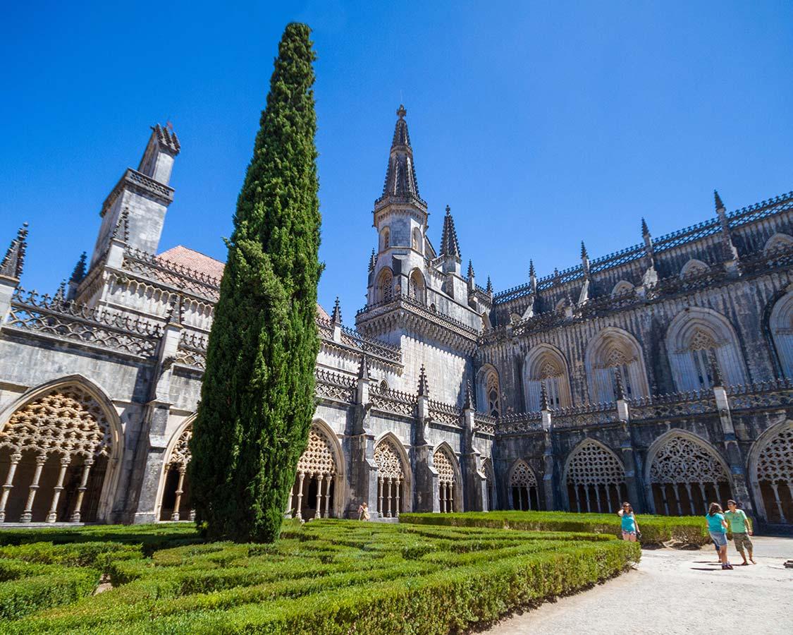 Batalha Monastery Coutyard Church
