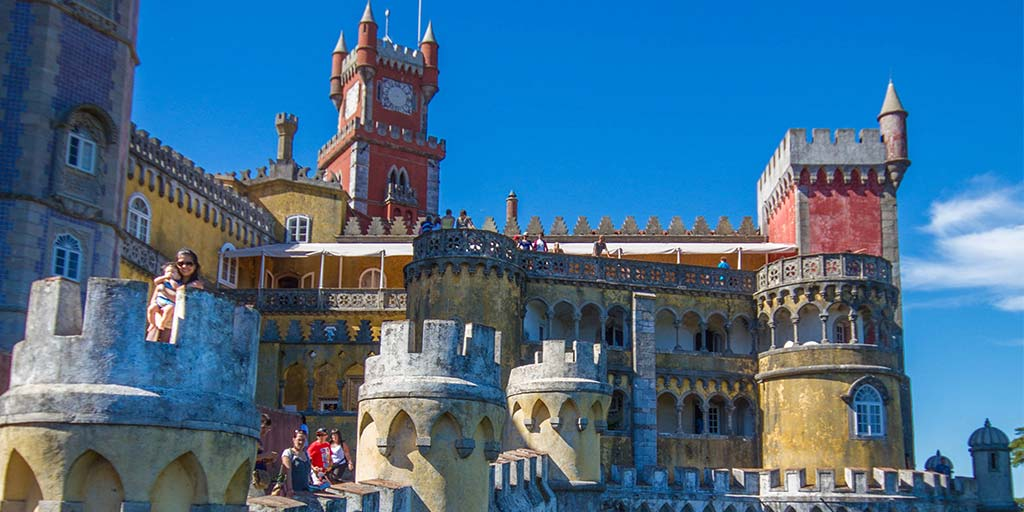 Castles of Sintra Portugal