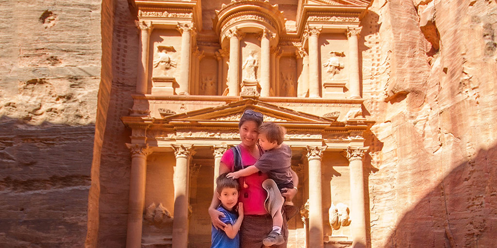 What to see in Petra with kids Twitter