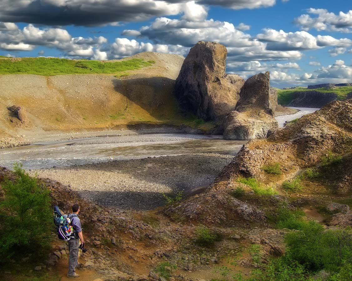 Hiking Iceland with kids