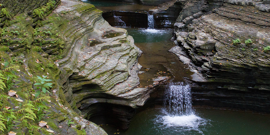 Waterfalls of Watkins Glen New York