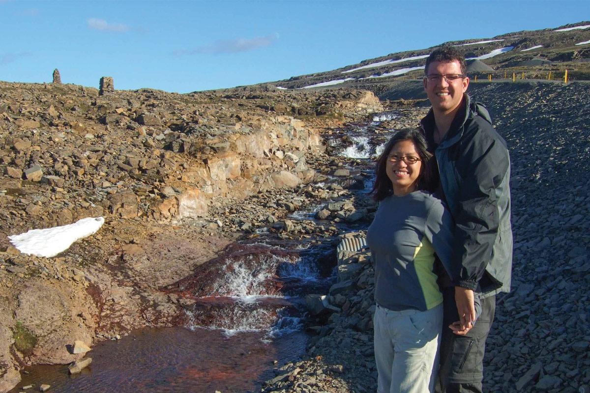Cairns-along-the-highway-in-Icelands-Westfjords