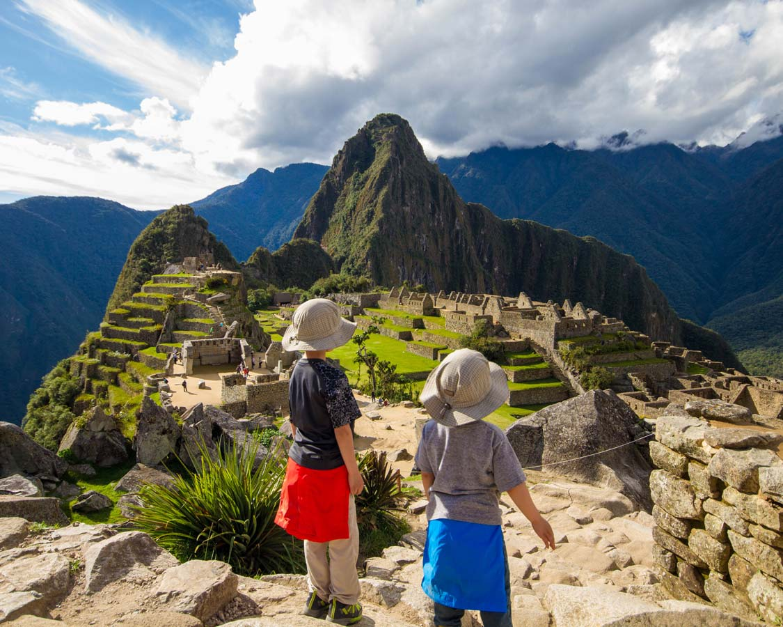 Thinking about visiting Machu Picchu with kids? Don't be worried! Visiting Machu Picchu with children isn't hard. In fact, it can be life-changing!