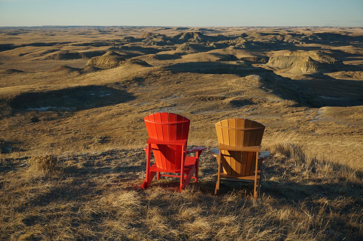 Grasslands National Park in Saskatchewan