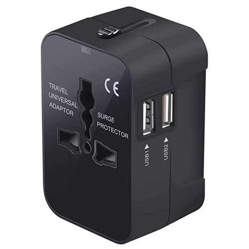 Travel power adapter