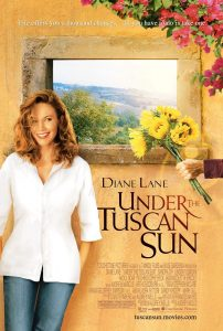 Under the Tuscan Sun has become a classic travel movie focusing on expat life. It is one of the top travel movies to inspire wanderlust