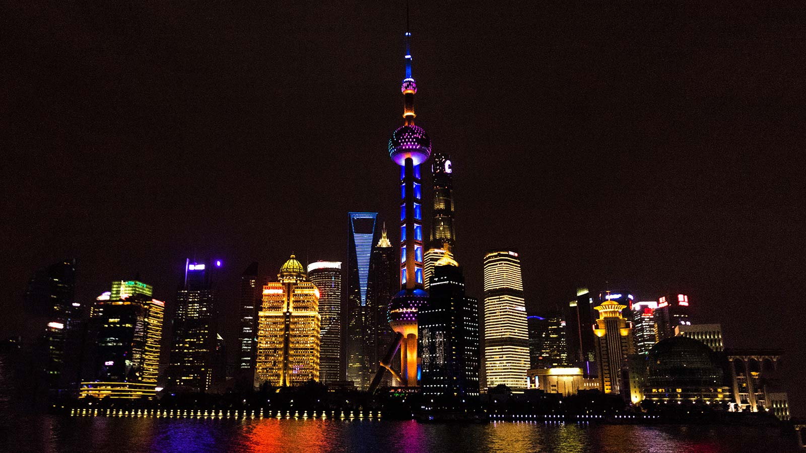 The dramatic skyline of Shanghai is just one example of what makes family travel to China so incredible
