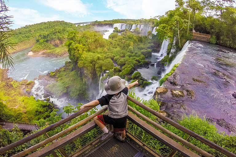 What to see in Iguazu Falls Argentina with kids