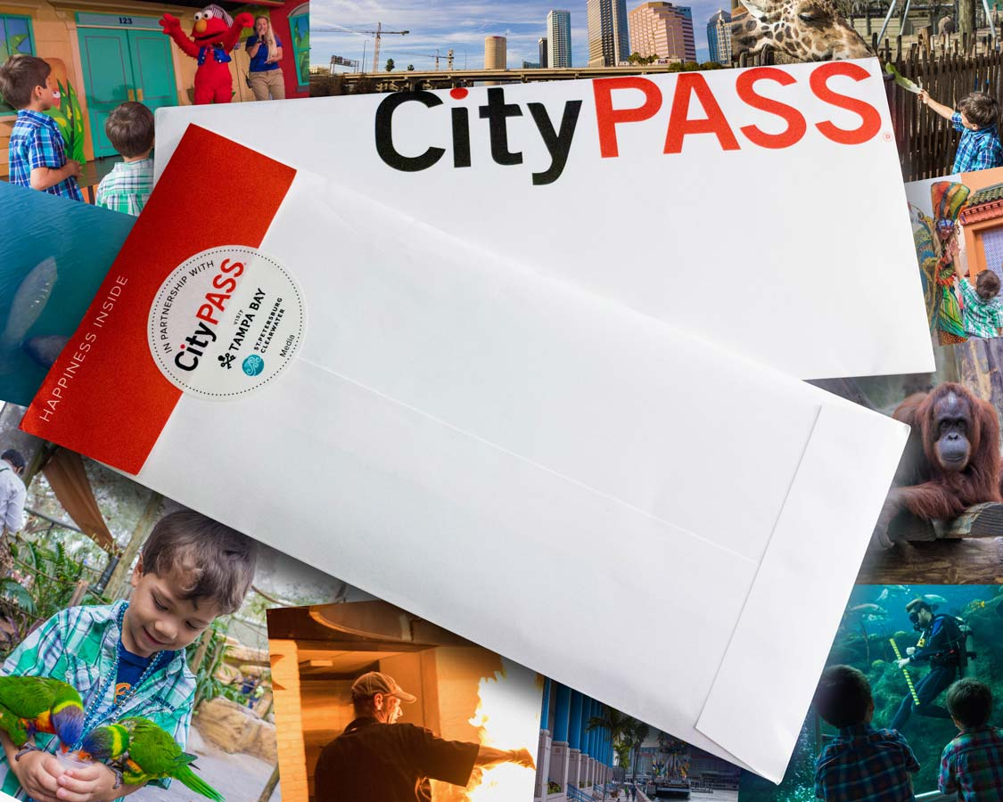 The Tampa CityPASS is a passport to excitement when visiting Tampa with kids