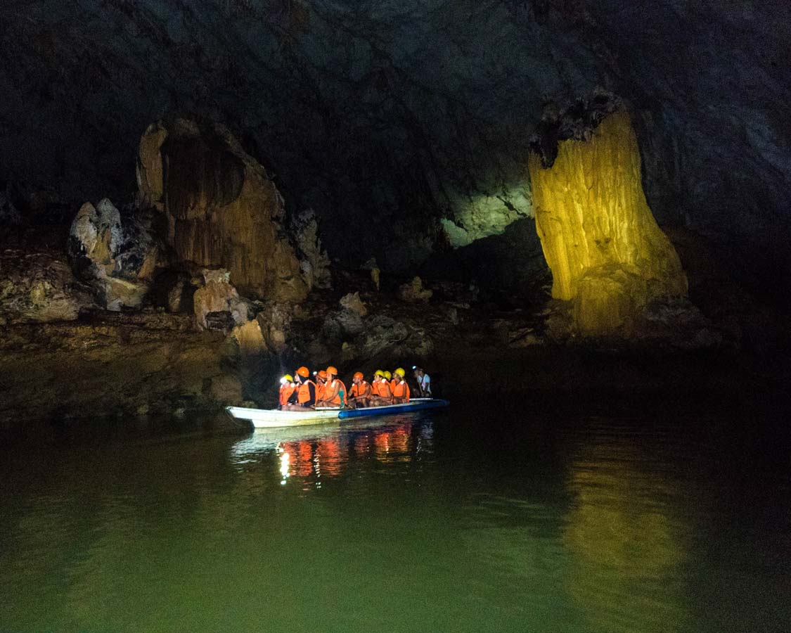 Palawan underground river tours in Puerto Princesa, Philippines