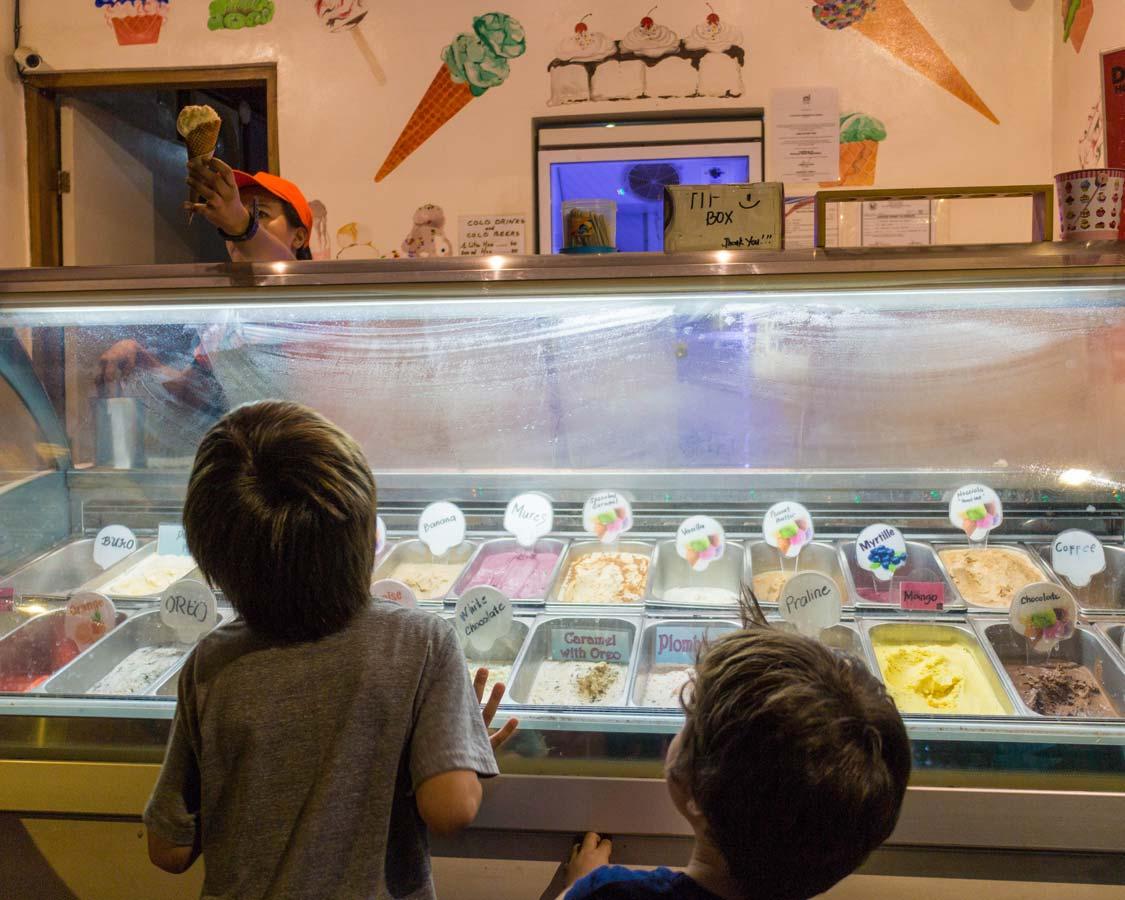 dFactory Ice Cream shop in El Nido Philippines