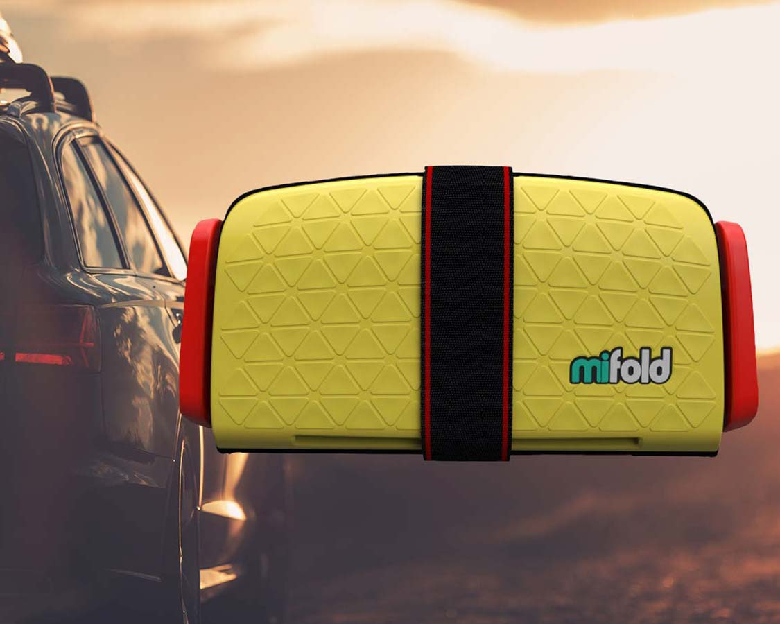 The MiFold Portable Car Seat is the smallest travel booster seat on the market. It's tiny size and excellent safety record make it a popular car seat option. But does it live up to the hype? We run it through the tests to see if the MiFold is the best car seat for families on the go.