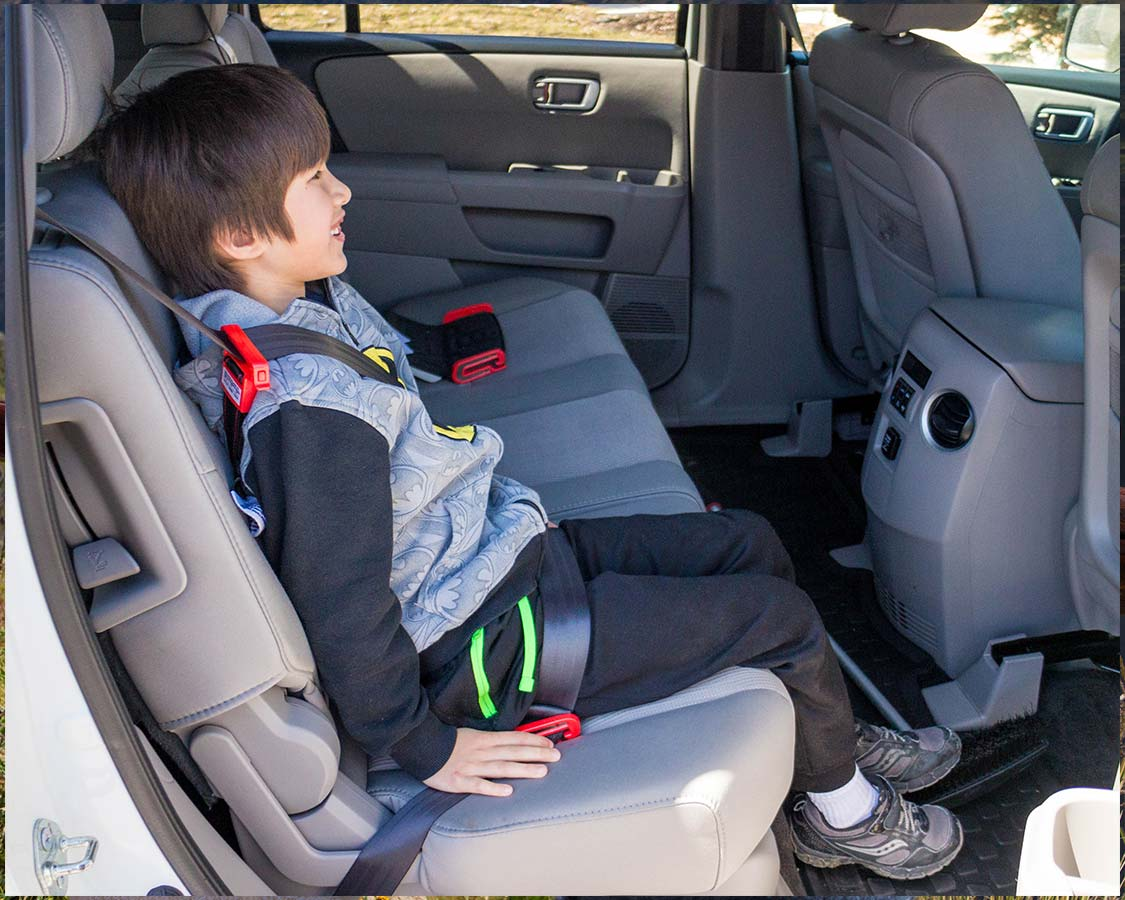 Mifold portable car seat review right side