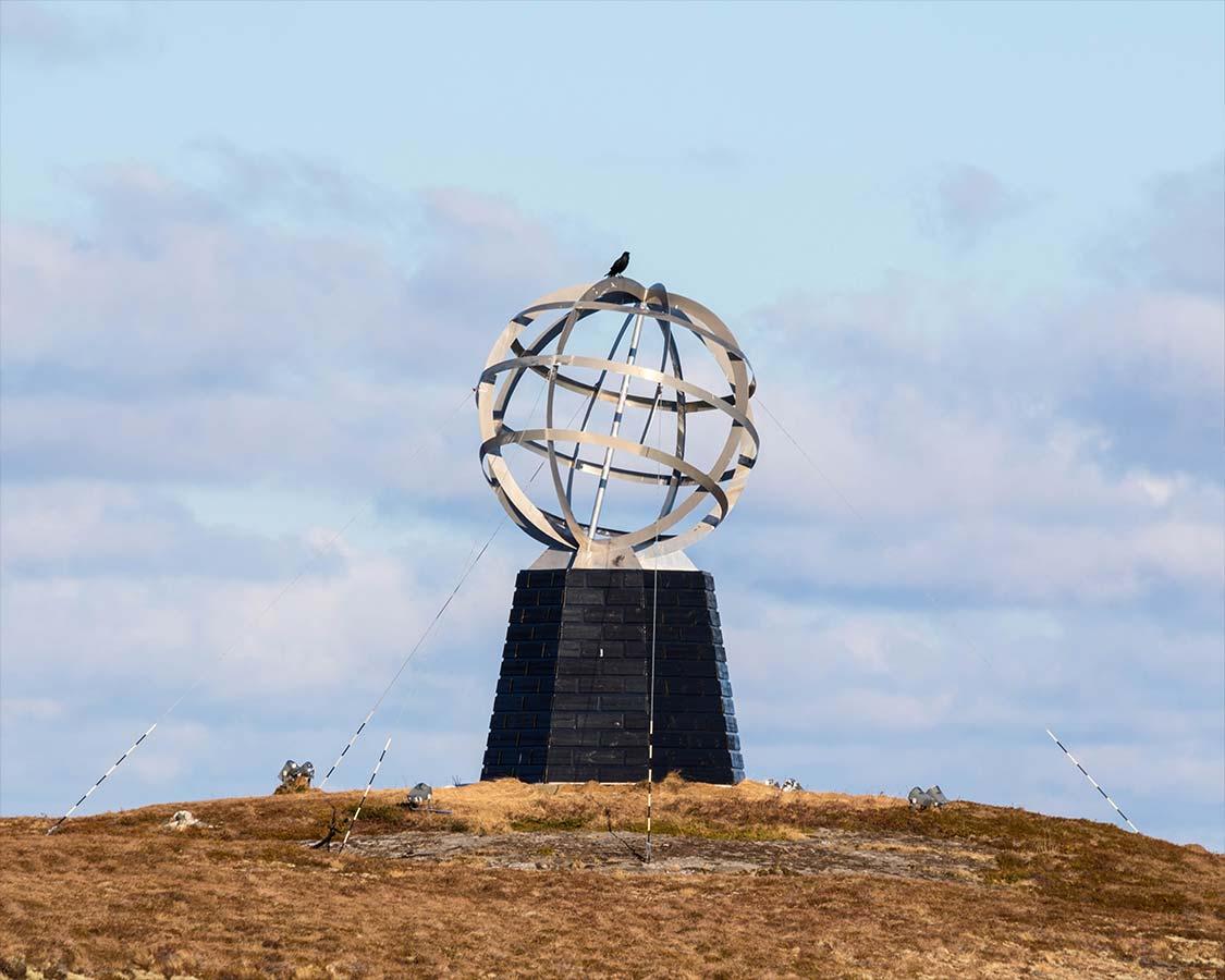 Arctic Circle Monument Norway