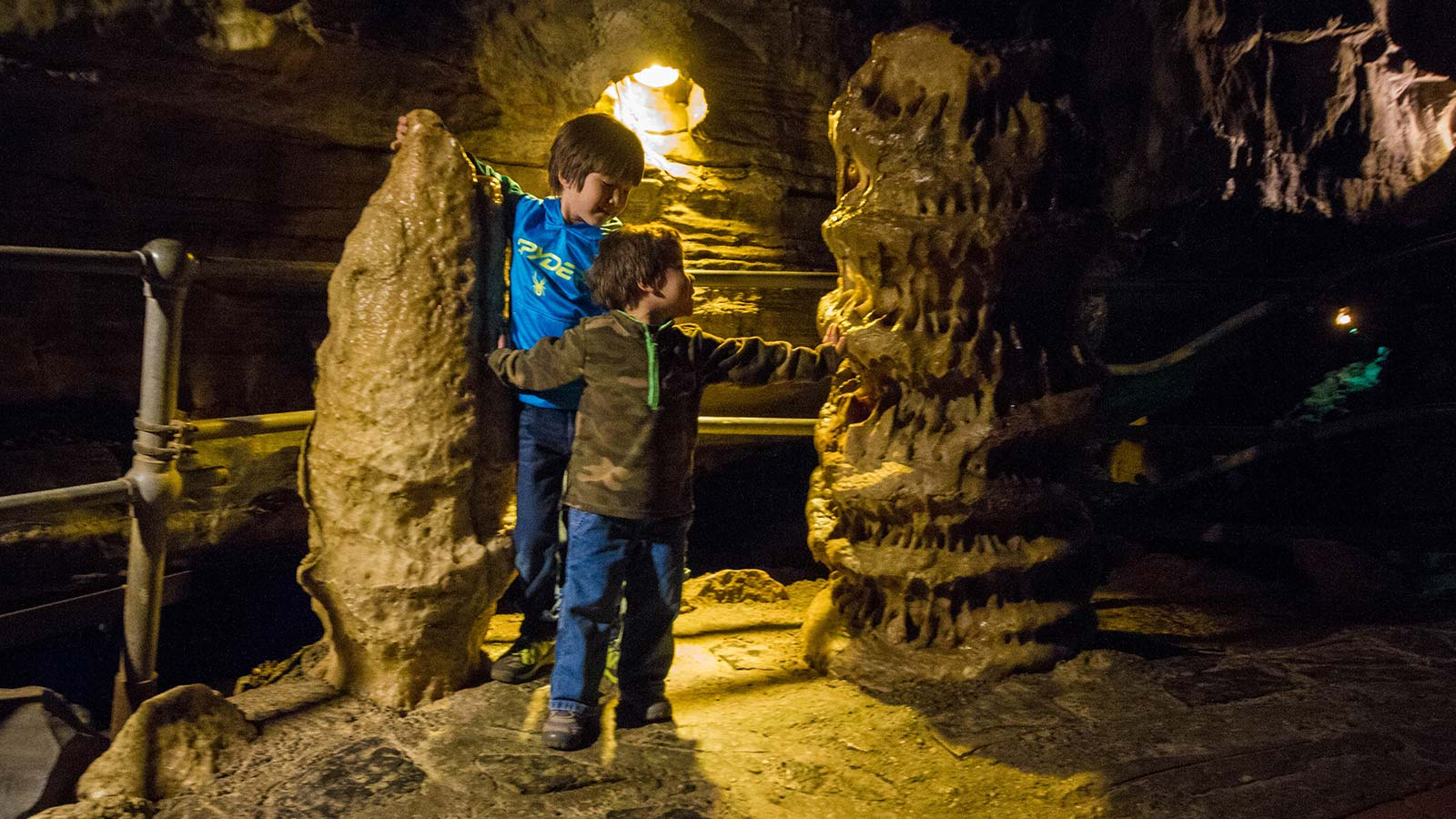 Howe Caverns is one of the best caves in upstate NY