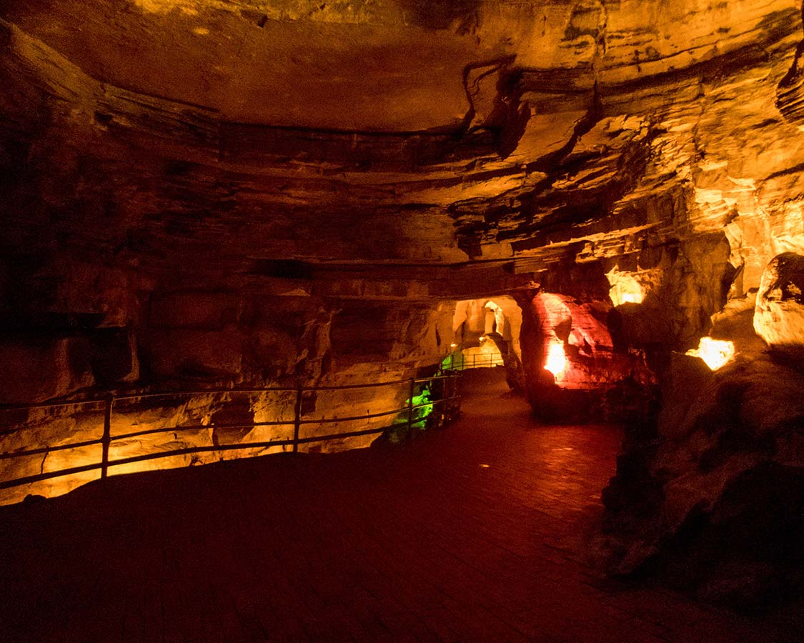 Howe Caverns with kids