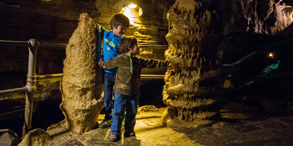 Howe Caverns is one of the best caves in new york