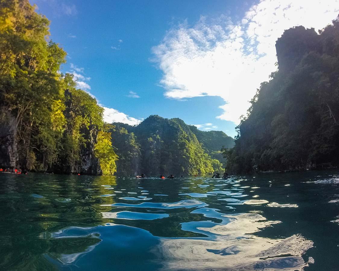 Kabaguyan Lake in Coron Palawan