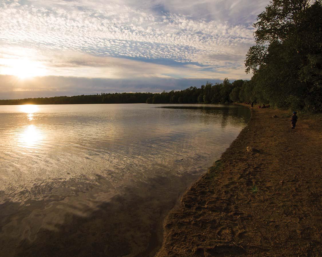 Cyprus Lake Campground Bruce Peninsula National Park