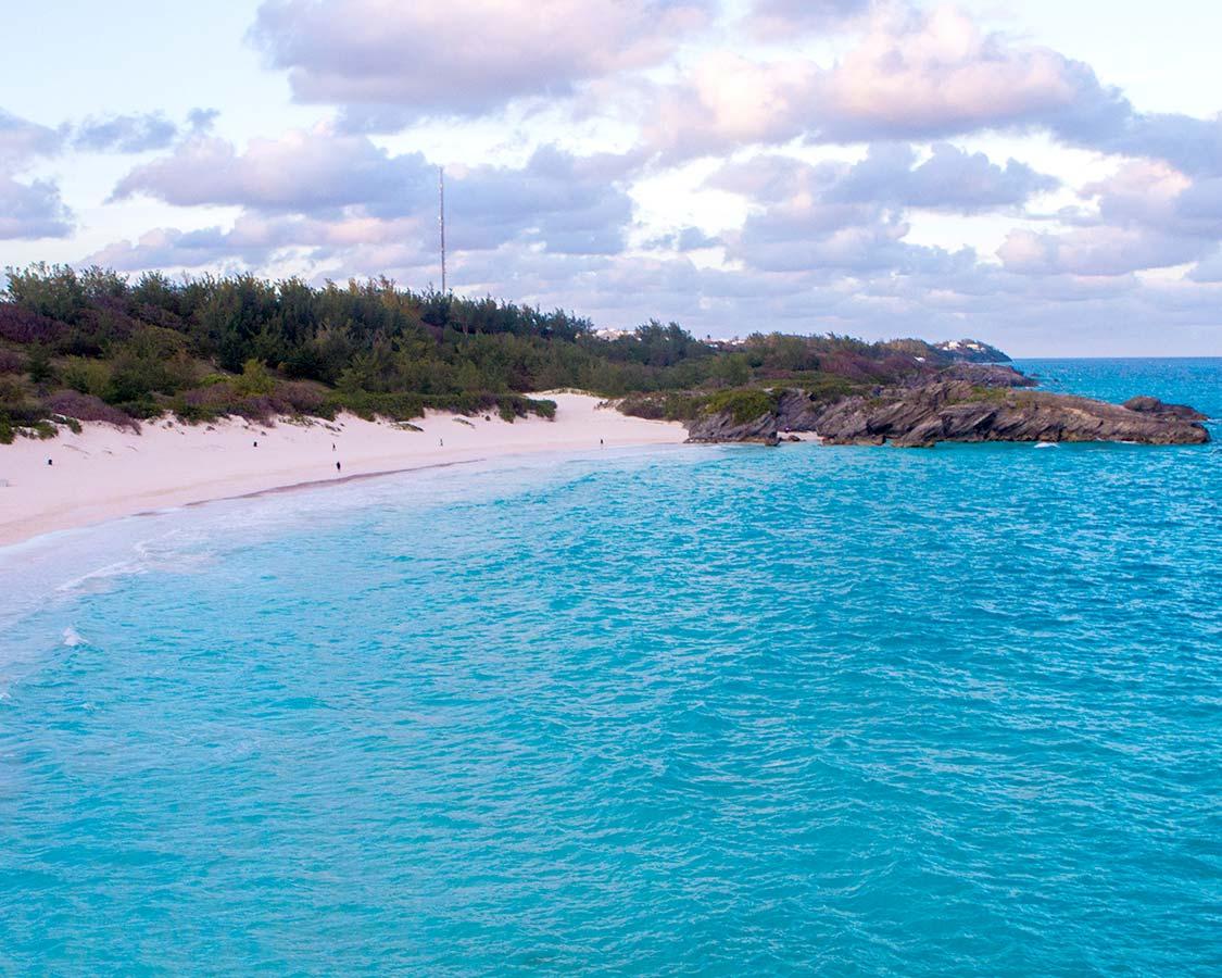 Bermuda Pink Sand Beaches Horseshoe Bay Beach