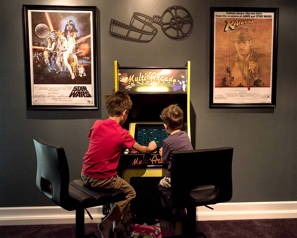 Kissimmee Vacation Home Arcade
